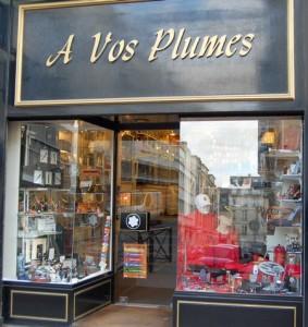 a vos plumes boutique, rue pierre aimé lair à caen